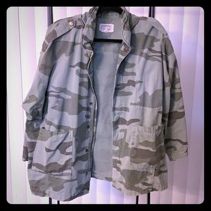 Current/Elliott camouflage jacket